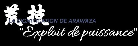 Signification Arawaza