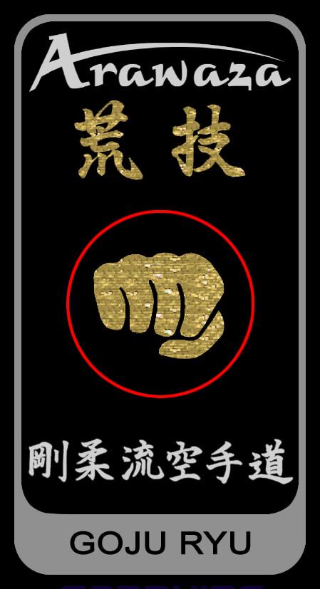 Gojuryu belt label